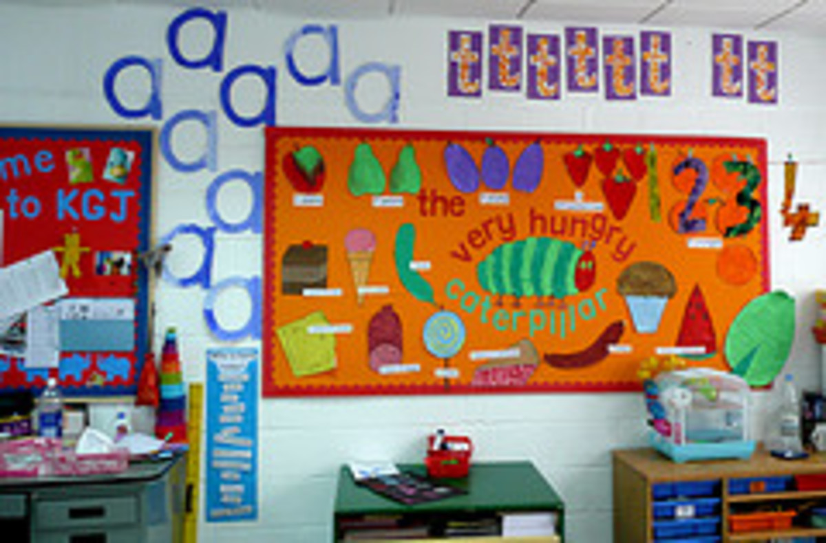 The Hungry Caterpillar. a beautiful wall display..by steve and Jemma Cobley at flckr