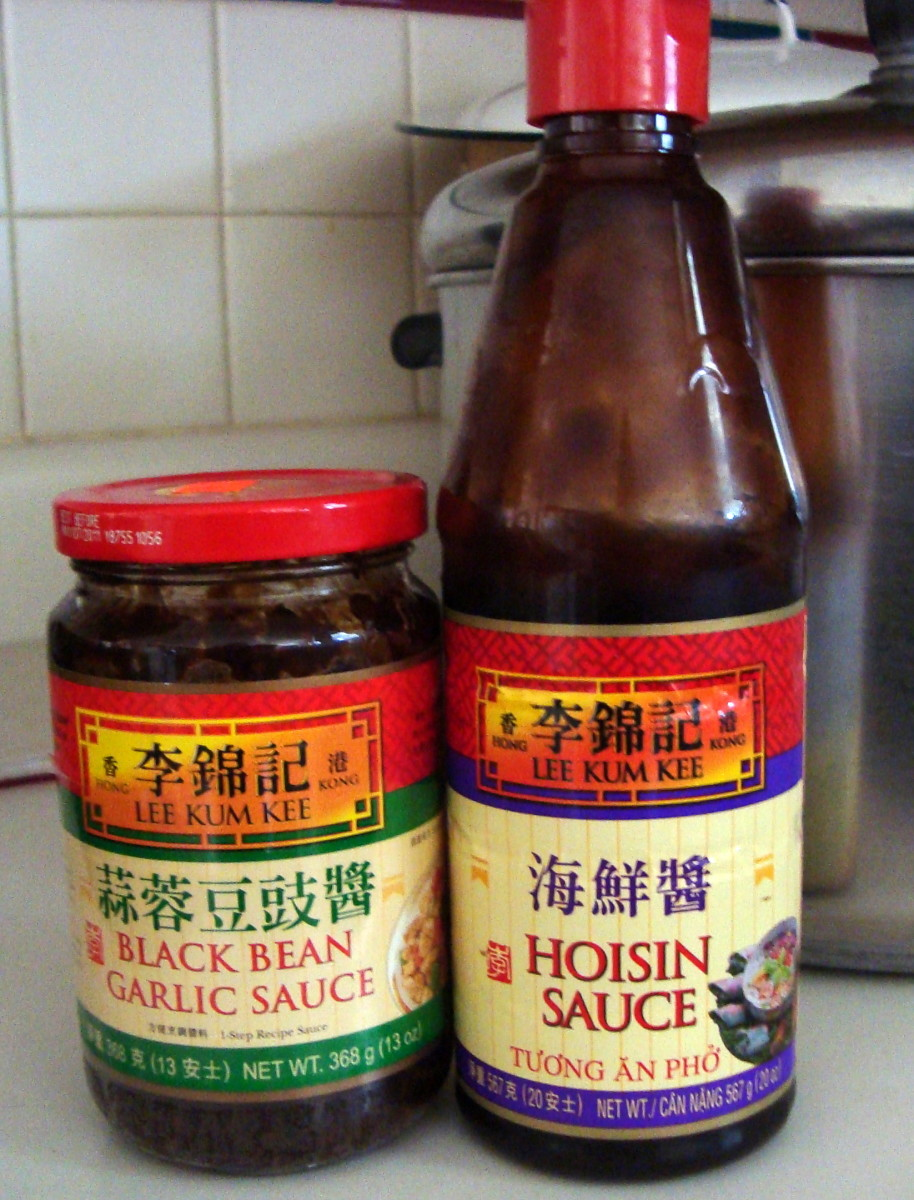 Black Bean Garlic Sauce and Hoisin Sauce