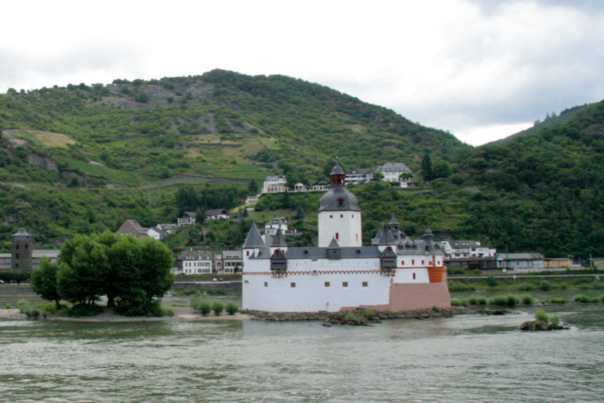 Cycling the Rhine River, Germany