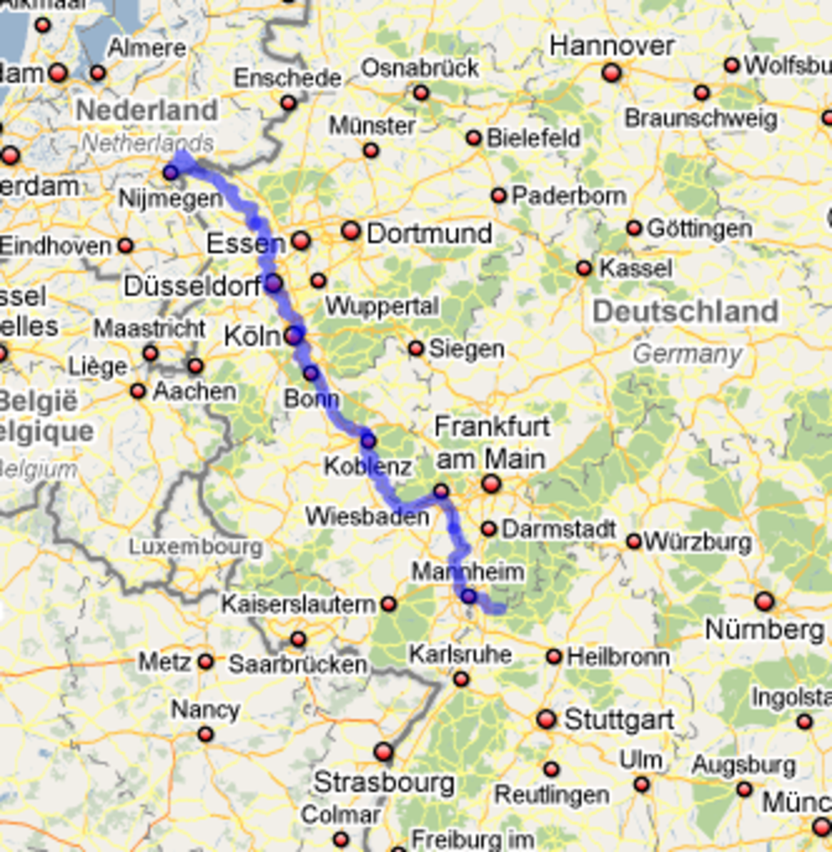 From Nijmegen to Heidelberg