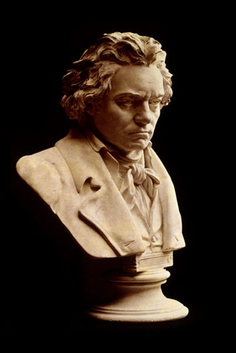 Beethoven Bust from Death Mask