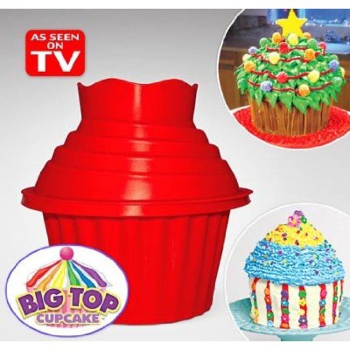 The Big Top Giant Cupcake Pan!