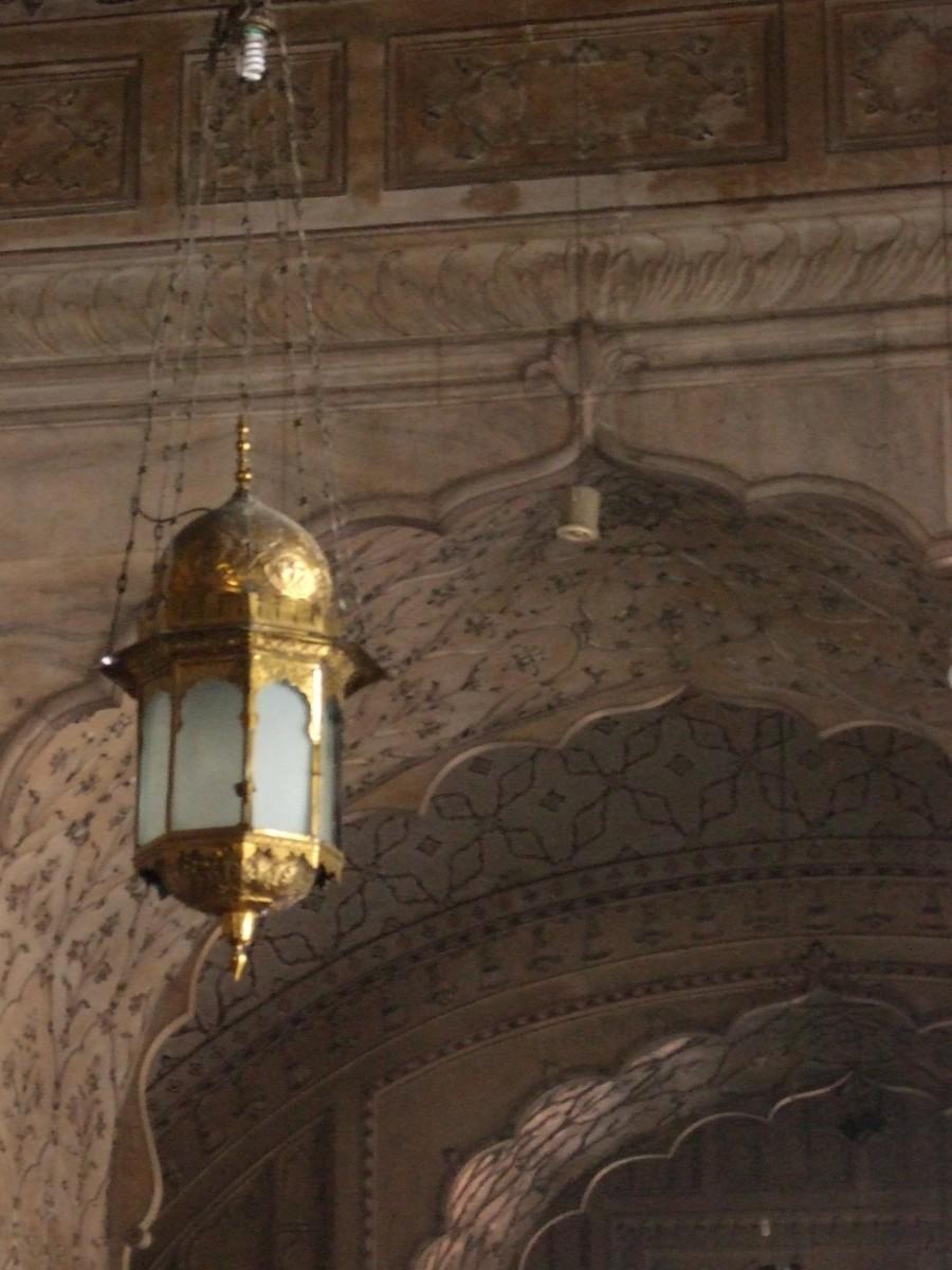 A Mogul lamp