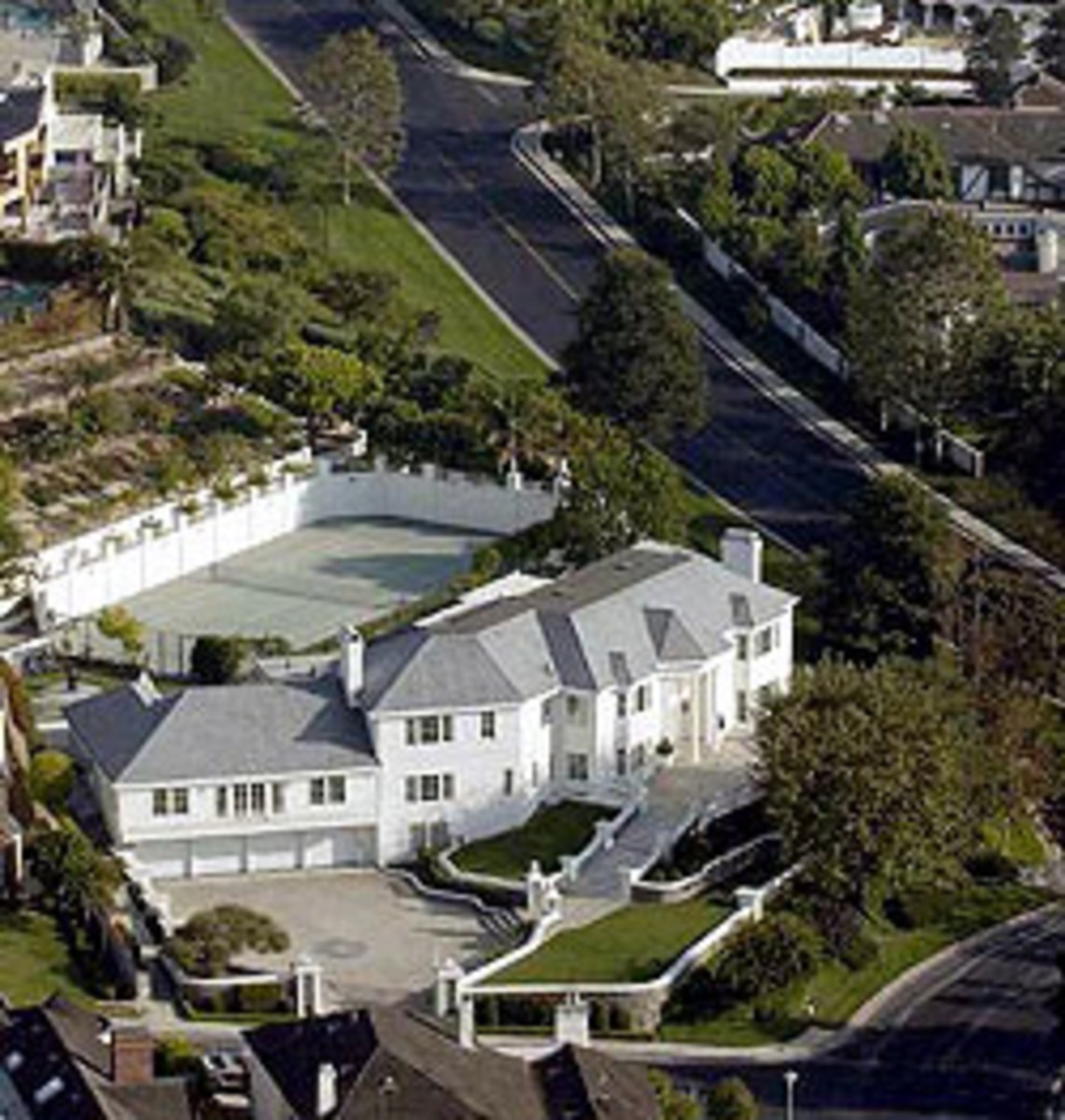 Jan and Paul Crouch's Mansion