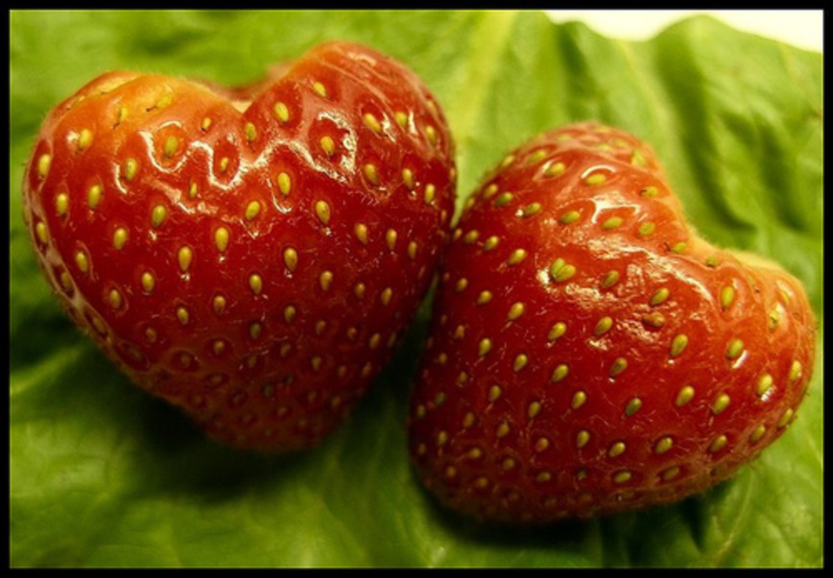 strawberry hearts