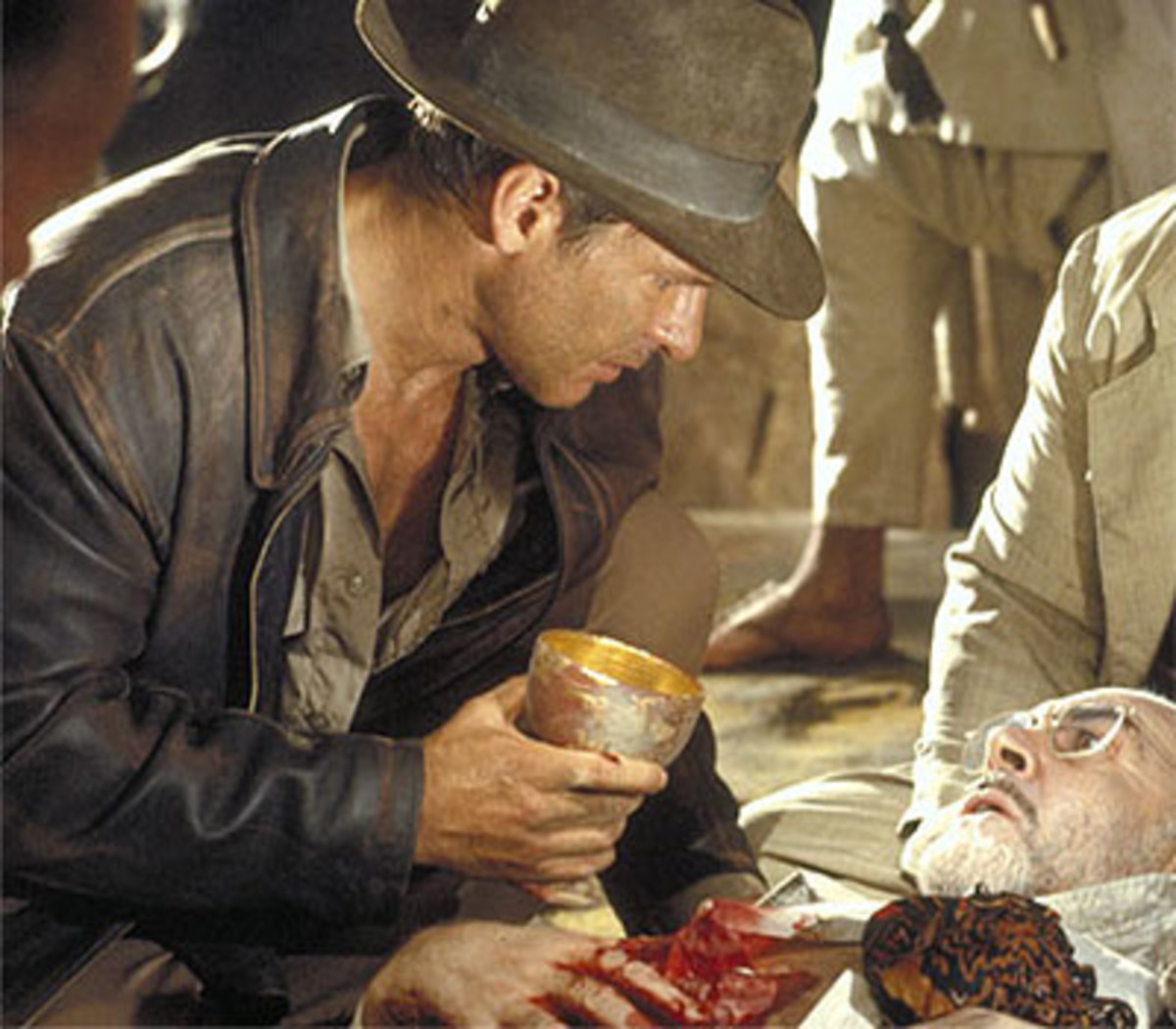 Indiana Jones and the Last Crusade (includes an appearance by Joseph of Arimathea!)