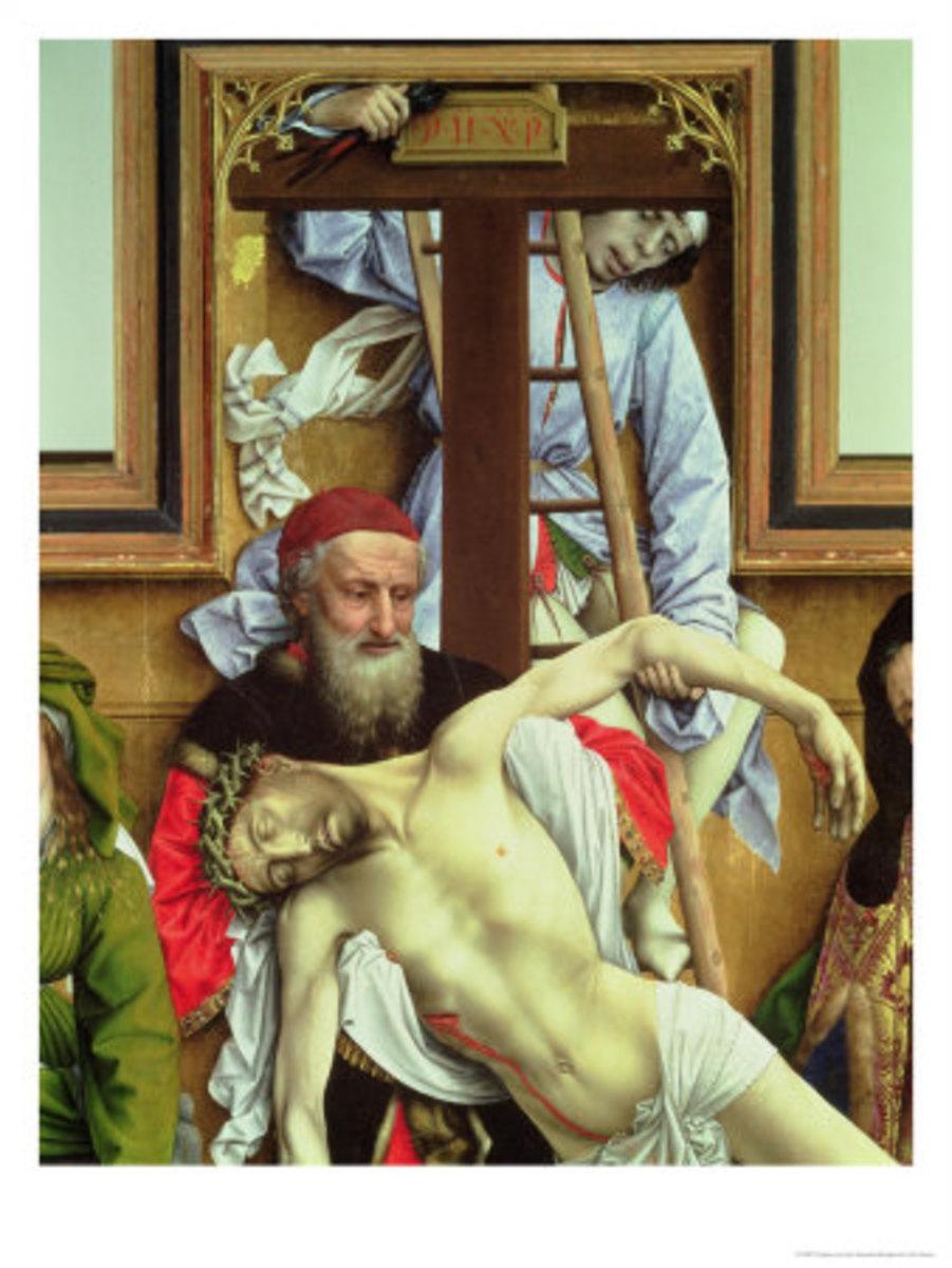 Joseph at the crucifixion