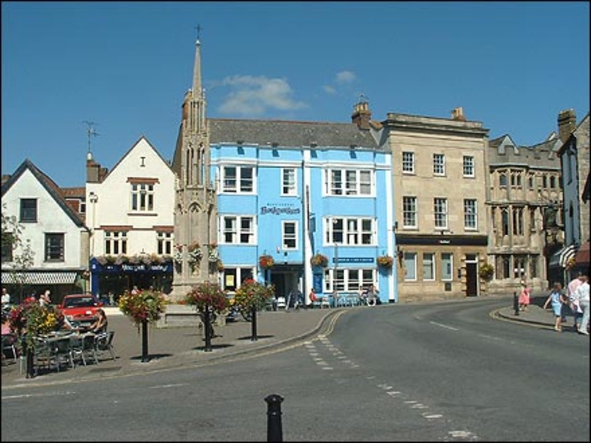 Glastonbury town