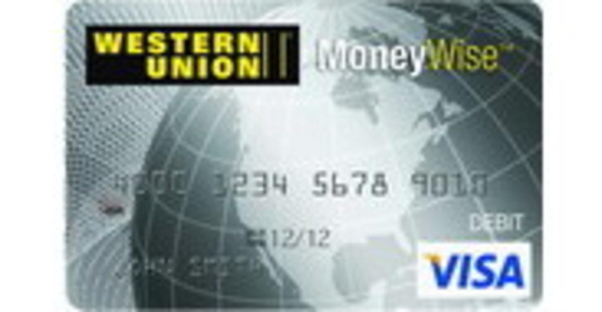 Western Union Prepaid Visa
