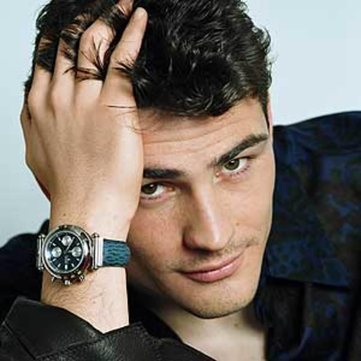 Iker Casillas - goalkeeper and captain