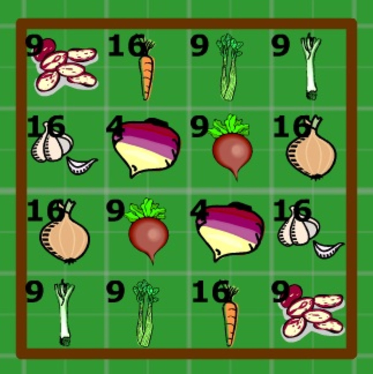 soup vegetable garden plan