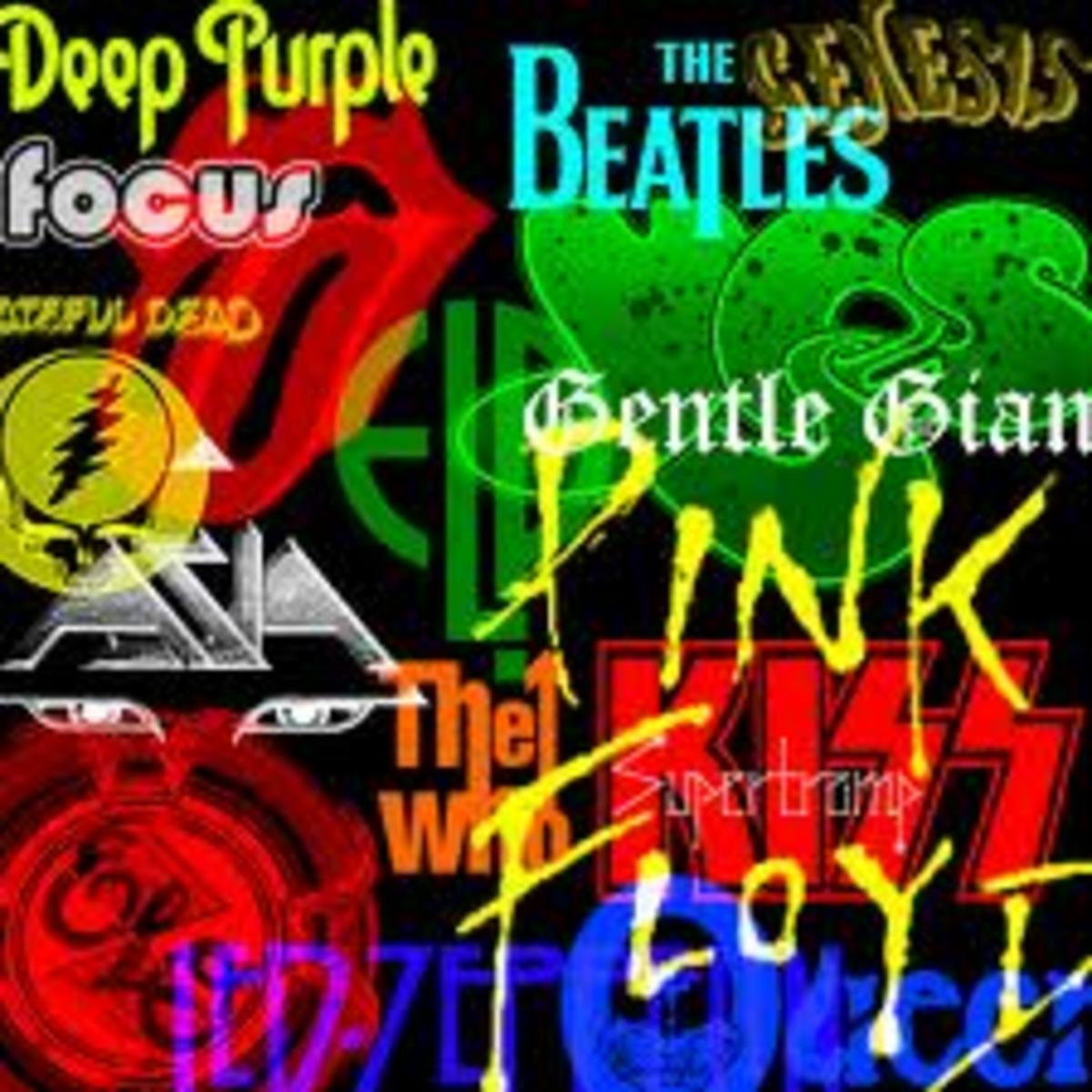 List of Rock Bands and Rock artists