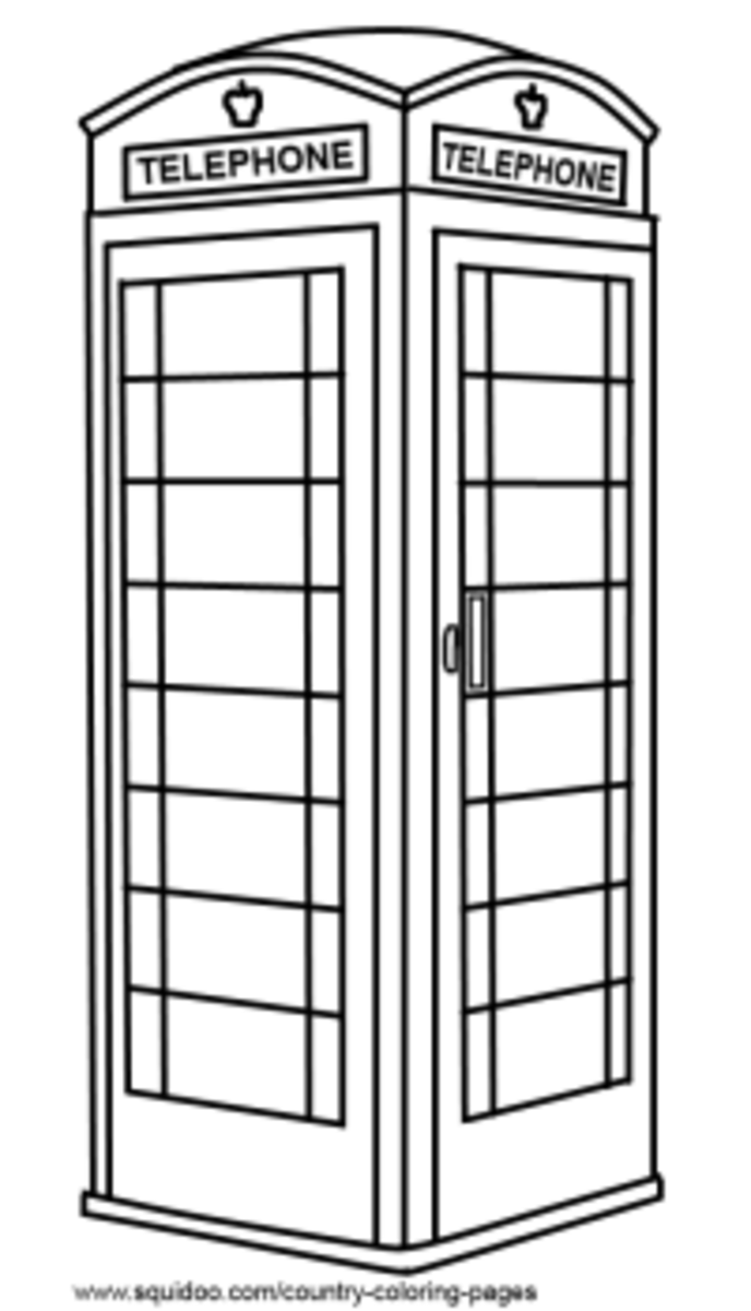 UK coloring pages