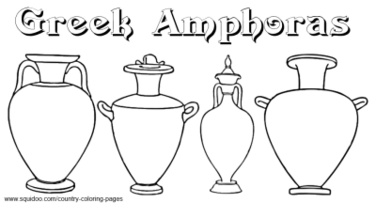 Greece Coloring Pages