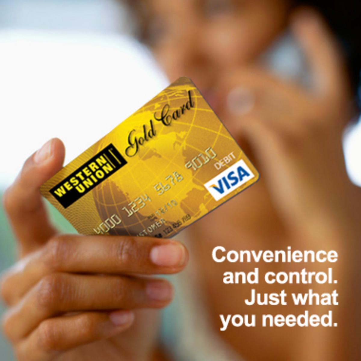 WesternUnion Moneywise Prepaid Card - Western Union Mastercard