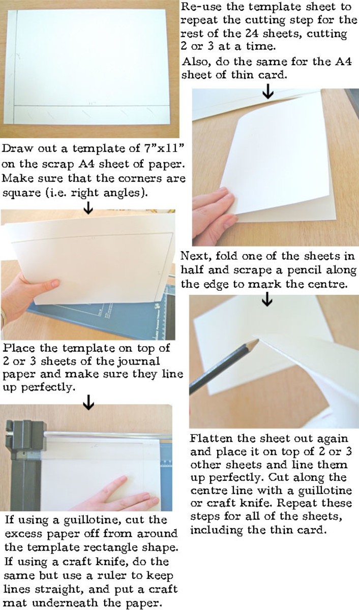 How To Make A Book Journal ~ How to make a leather journal book binding tutorial