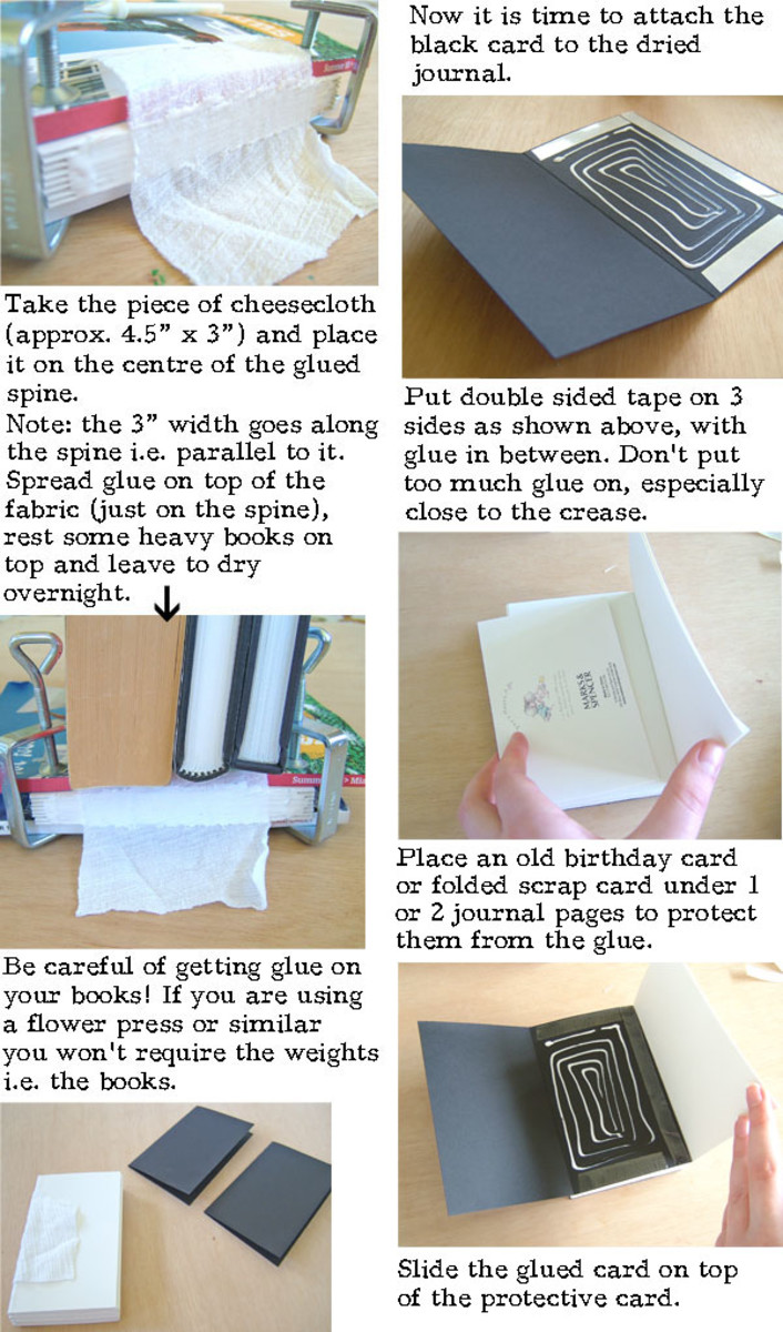 How To Make A Book Cover Leather ~ How to make a leather journal book binding tutorial