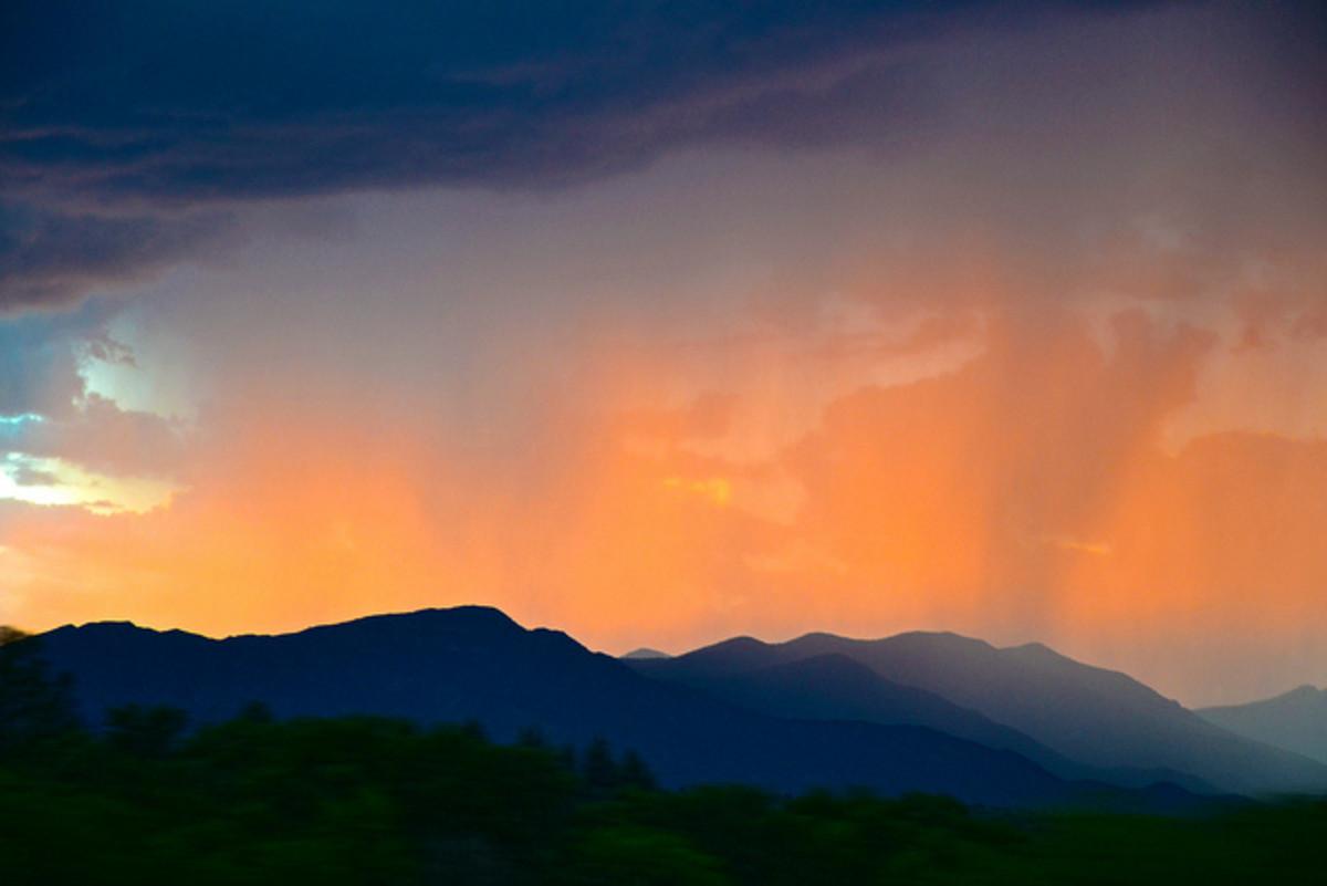 Coconino National Forest, AZ - Monsoon Rains