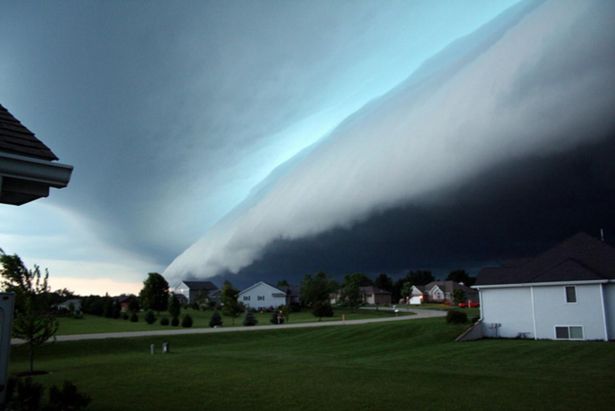Weather front - Illinois