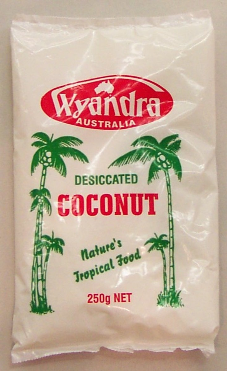Desiccated Coconut adds to the flavor!