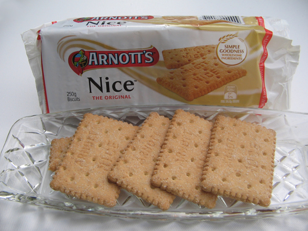 "Arnott's ""Nice"" biscuits!"