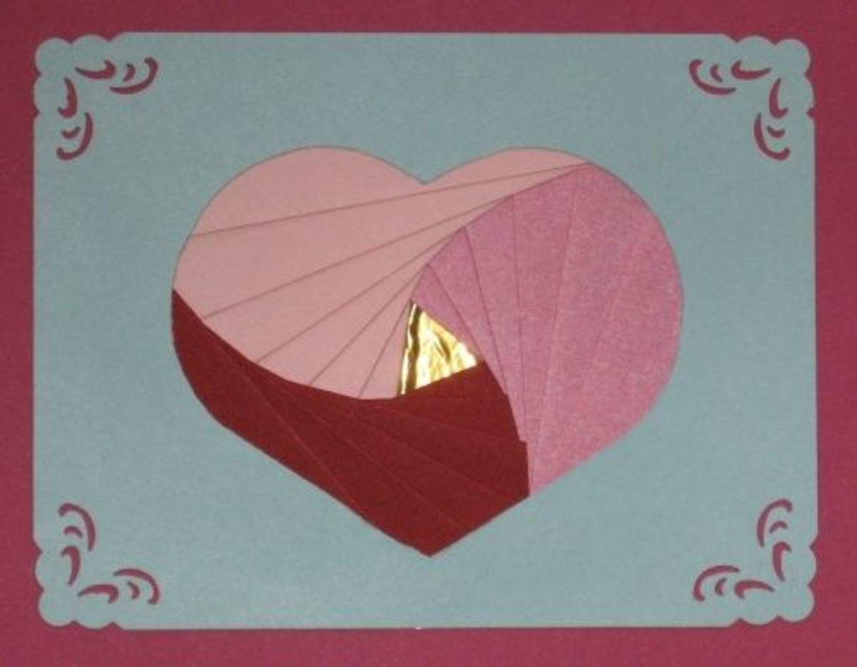 Heart Iris Folding Patterns