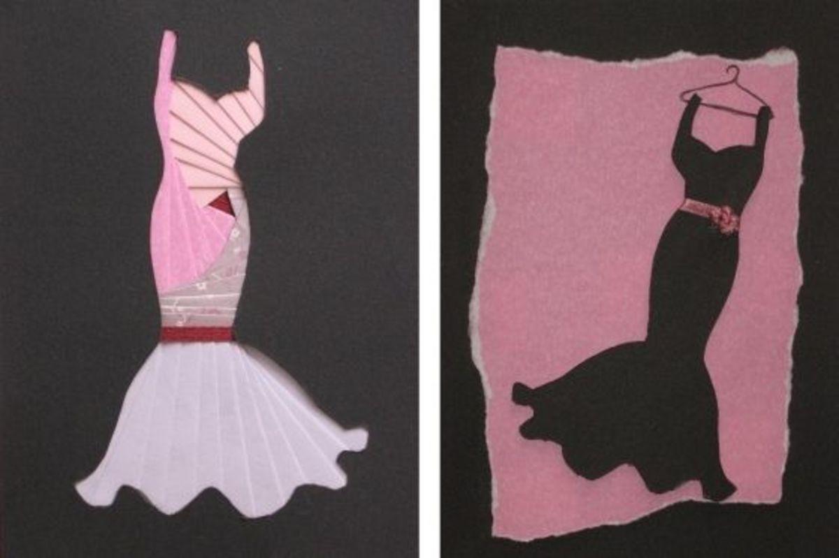 Iris Folding Dress