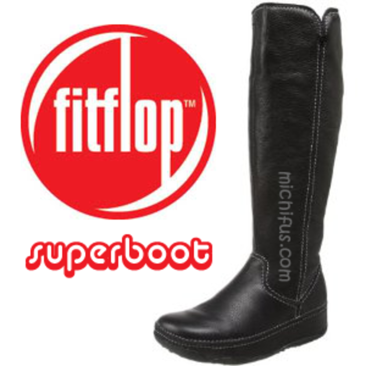 The latest leather & suede toning boots from FitFlop,