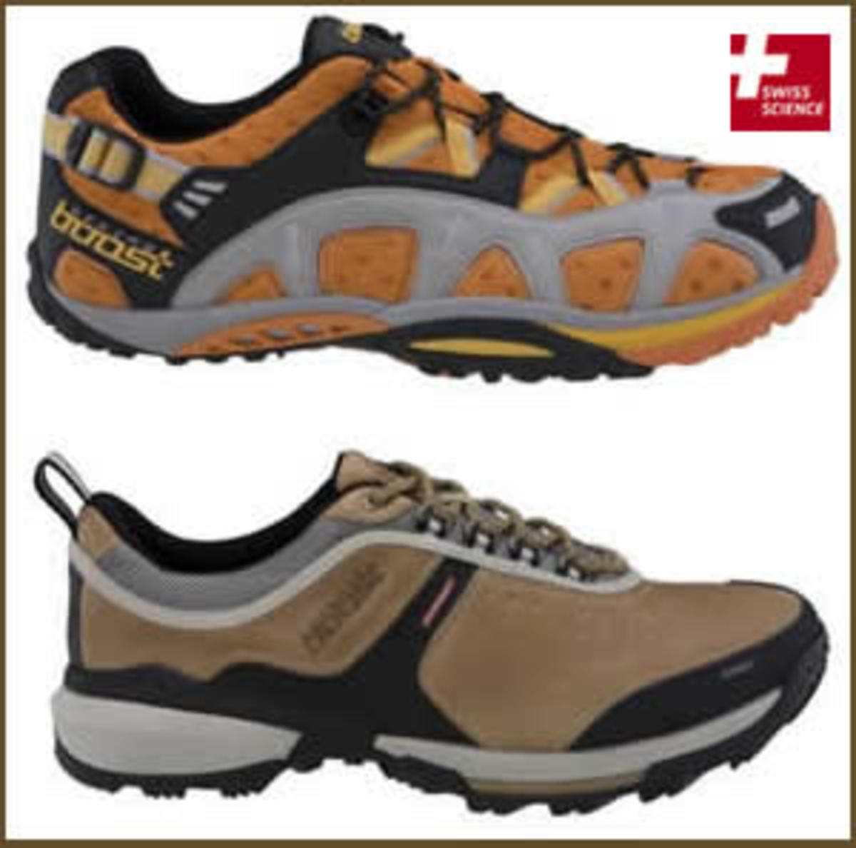 Two of the performance enhancing shoes from Springboost footwear