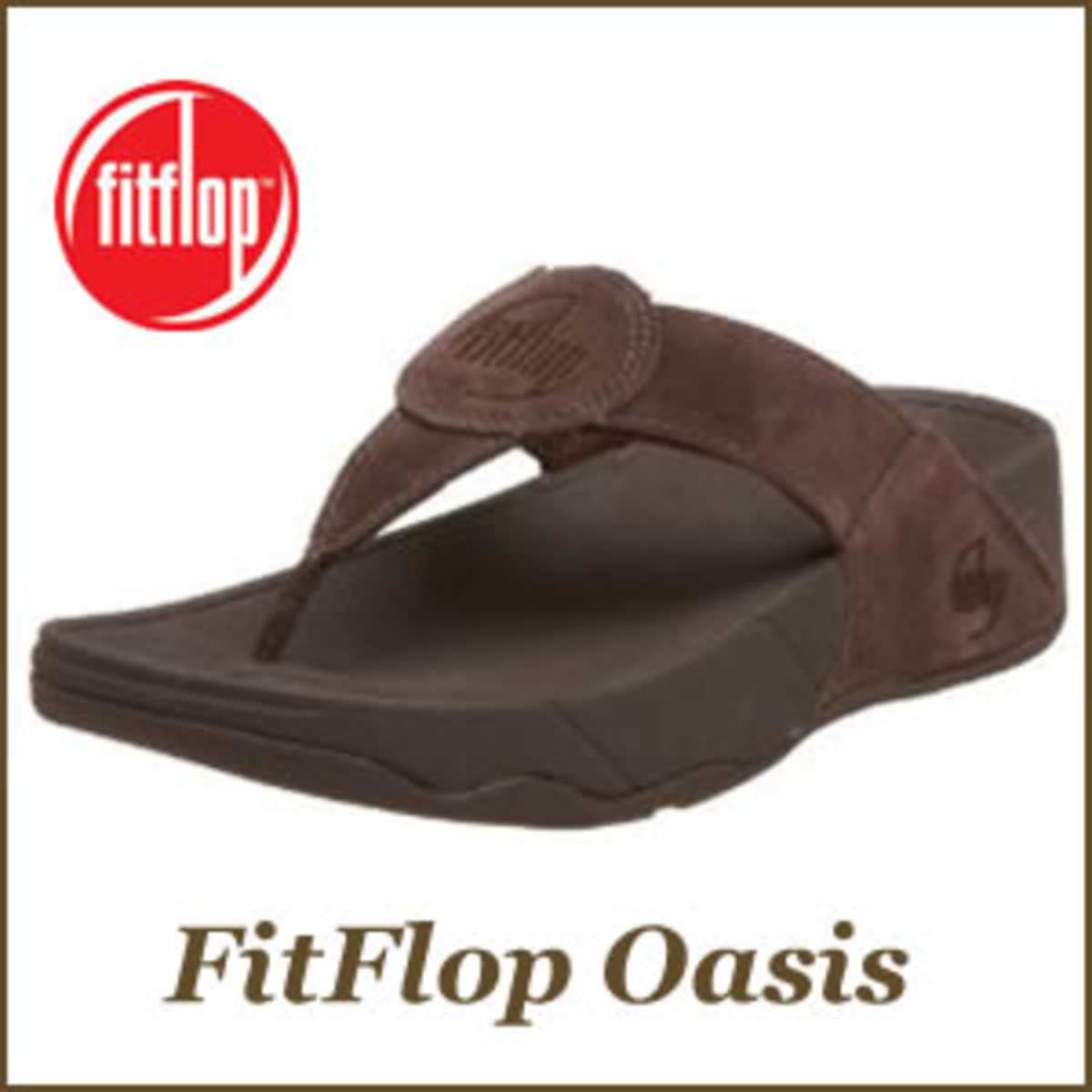 One of the many stylish FitFlop sandals available