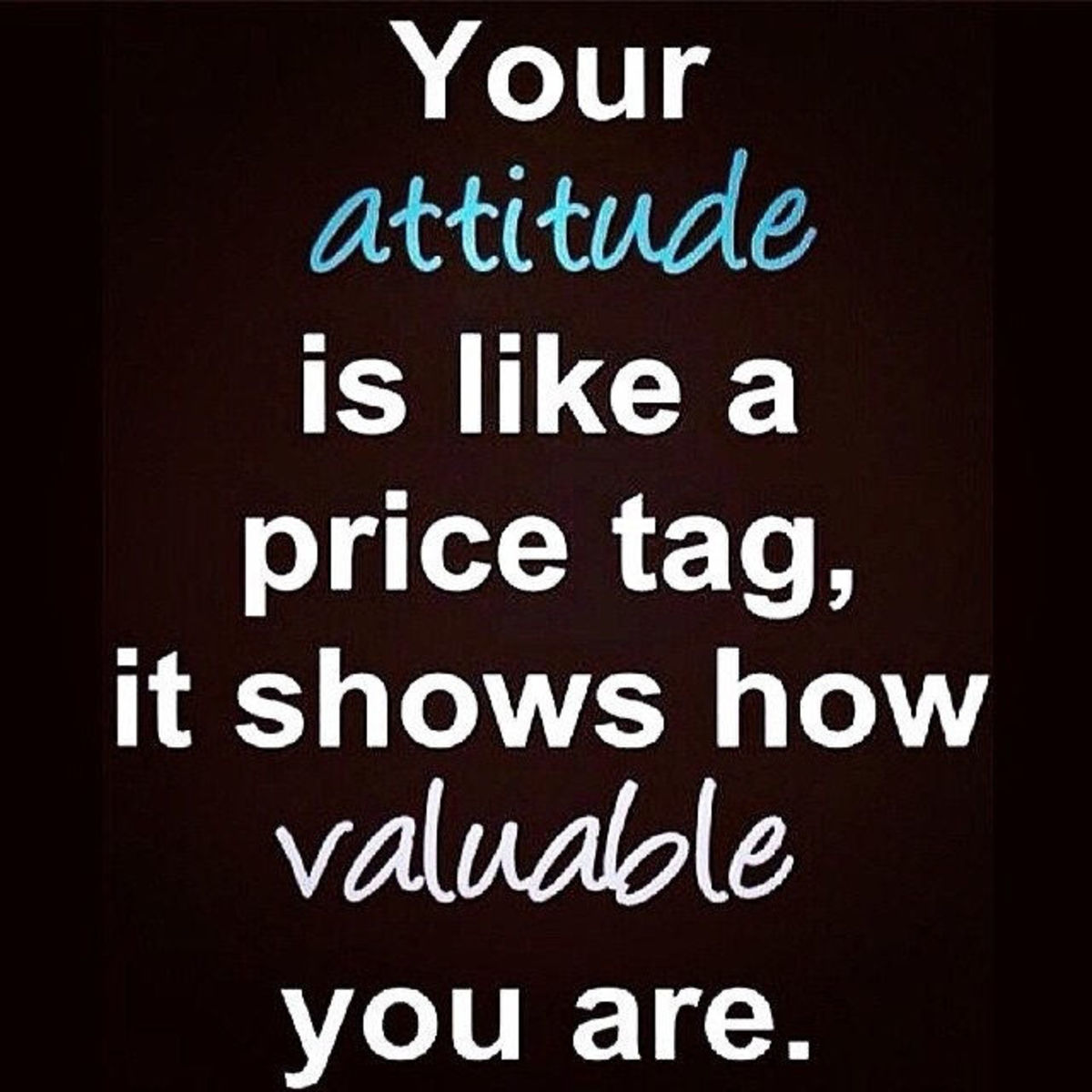 Attitude does effect and being generous is a tool to success | Source