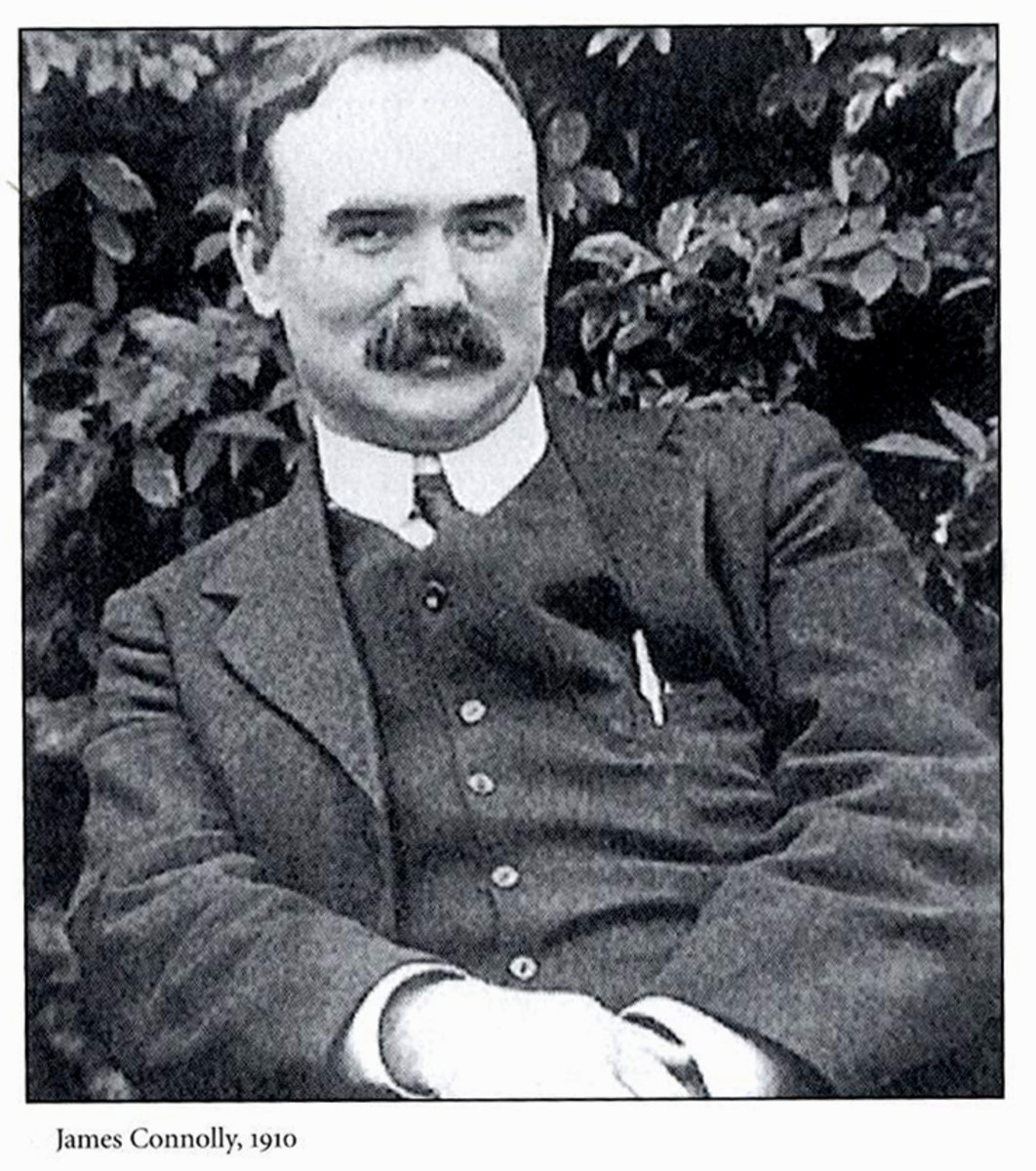 The 1916 Easter Rising in Ireland: James Connolly