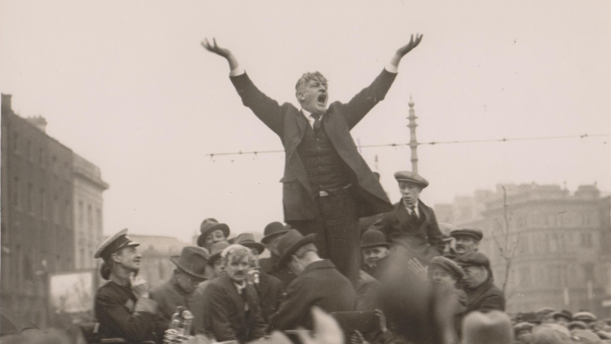 James Larkin in Dublin in 1923