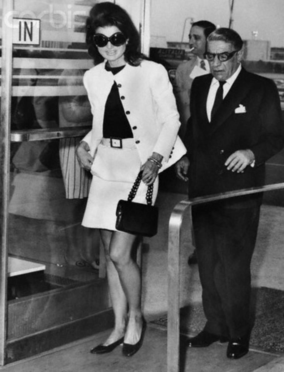 Jackie Kennedy Onassis and Artistotle Onassis