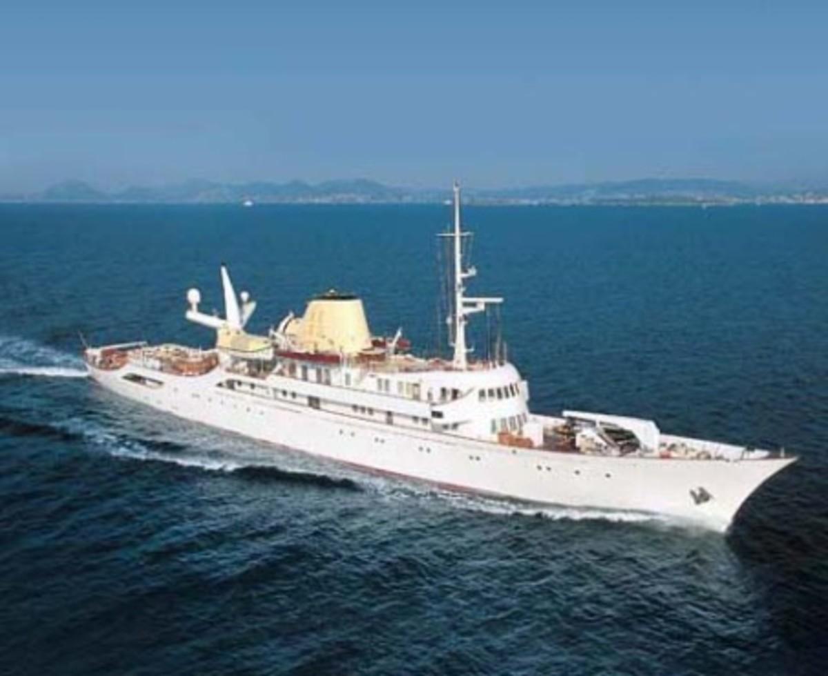 Onasis Yacht