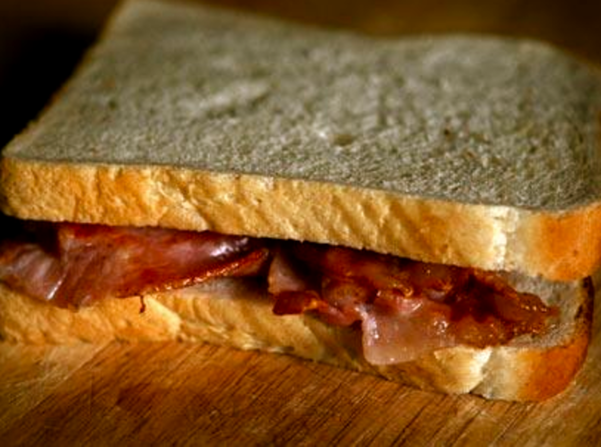 The Best Bacon Butty