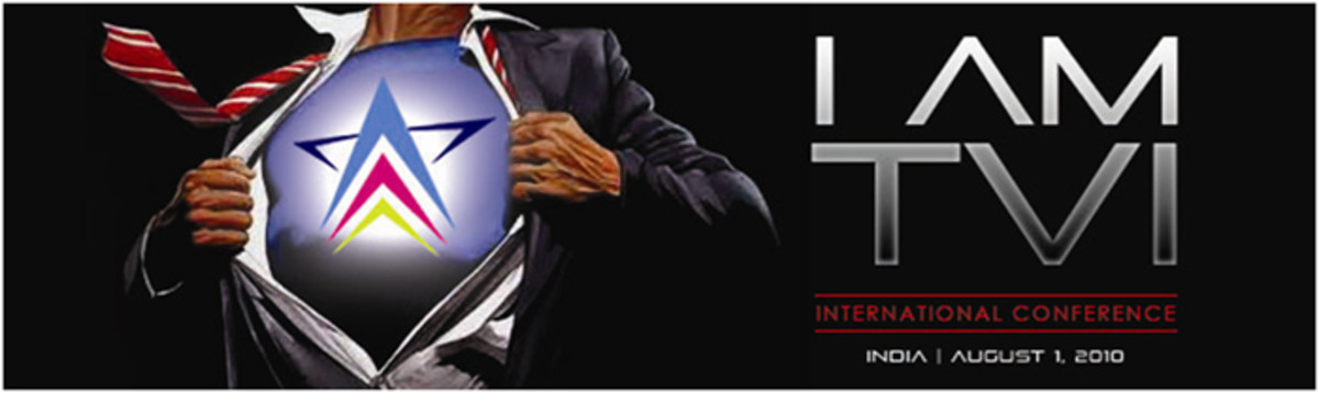 TVI Express August 1, 2010 convention banner