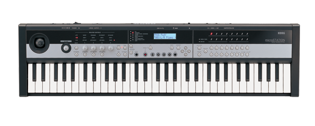 Korg microStation 61-Key Micro Synthesizer with Sequencer