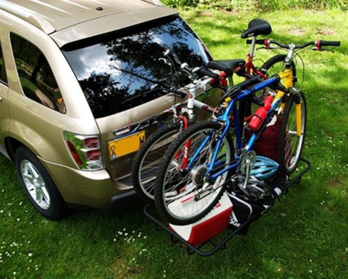*StowAway2 Shasta*    Most hitch racks focus on a single purpose, carry bikes or carry gear. Our Bike-Gear rack combines a bike rack and a gear rack so that you can carry up to four bikes along with your bike gear. Mounted to our rugged fixed frame.