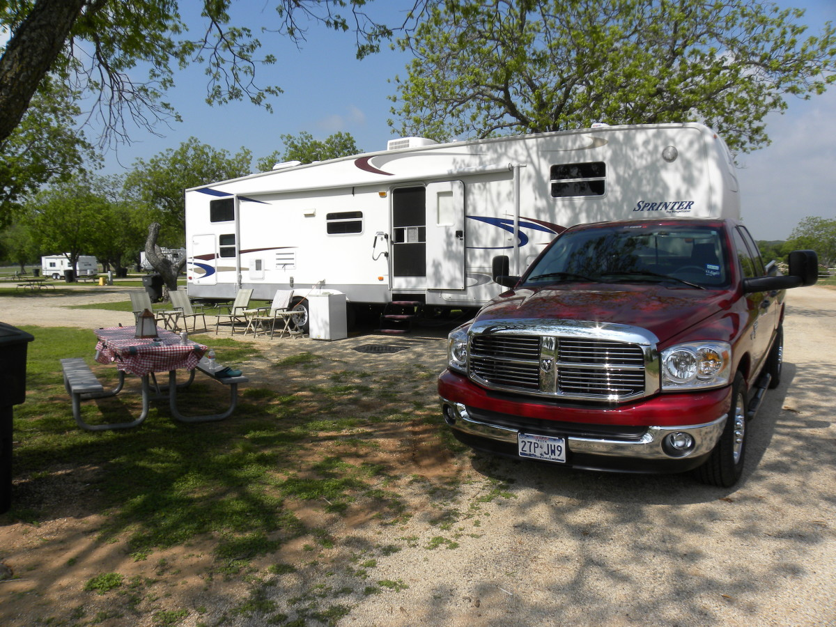 Lady Bird Johnson Campsite - Fredericksburg TX
