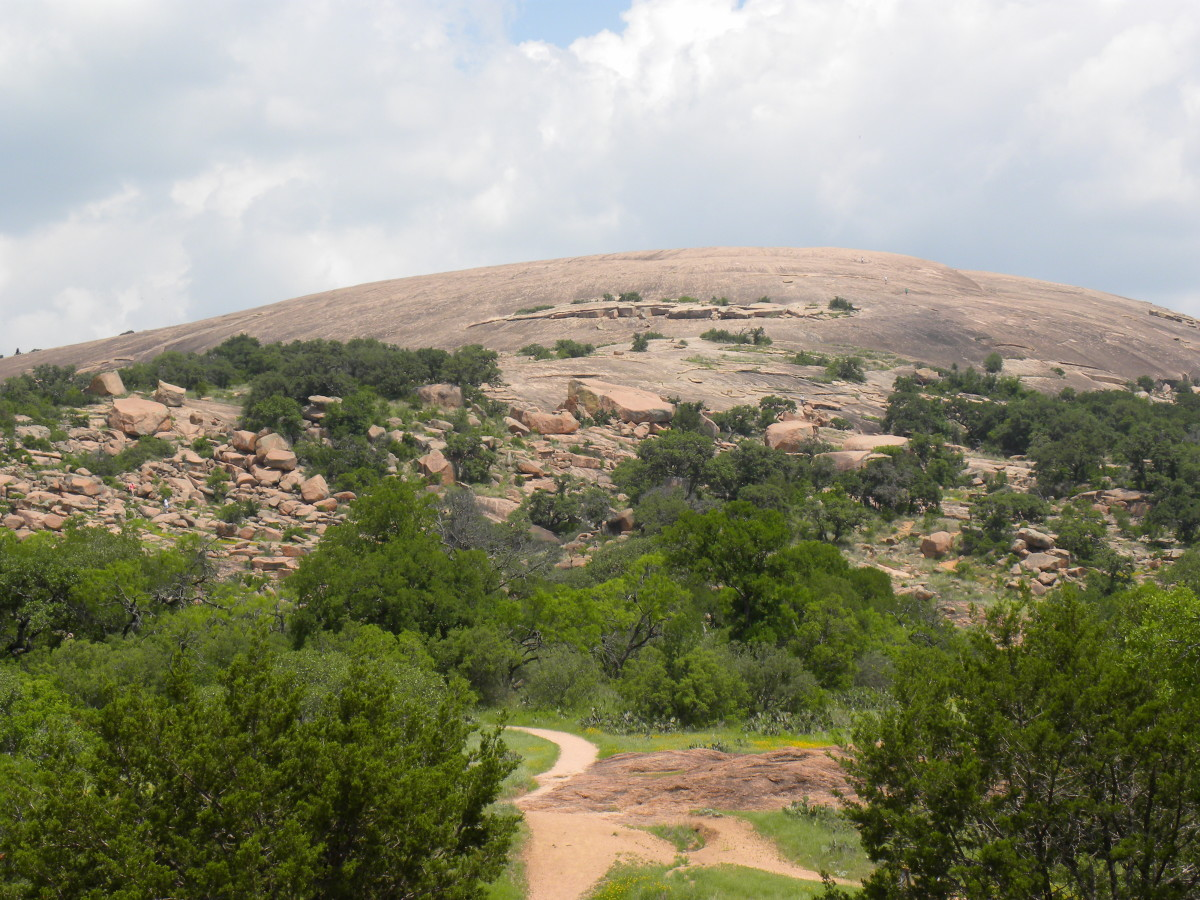 Enchanted Rock Fredericksburg Texas