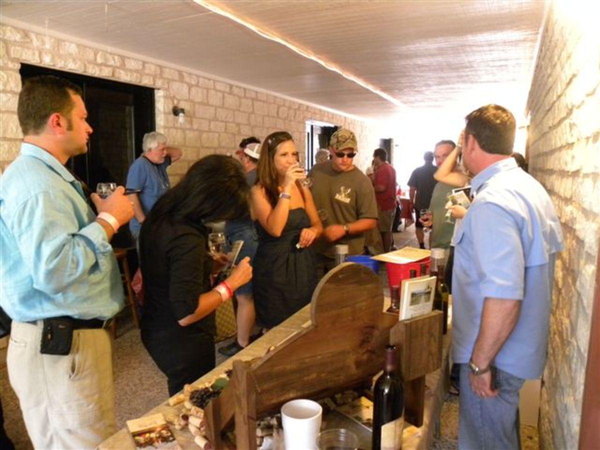 Wine Tasting Fredericksburg tx