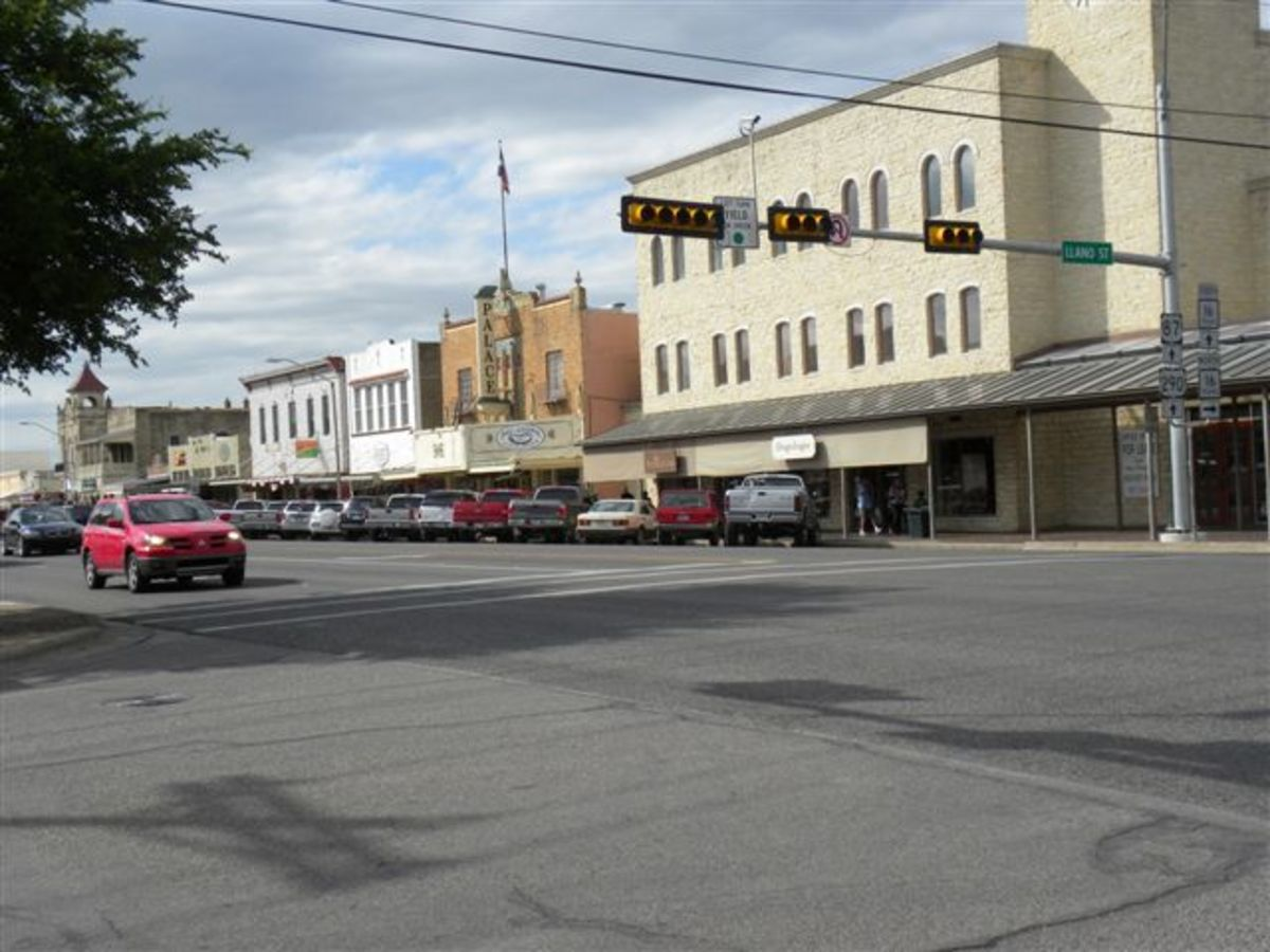 Downtown Fredericksburg Texas