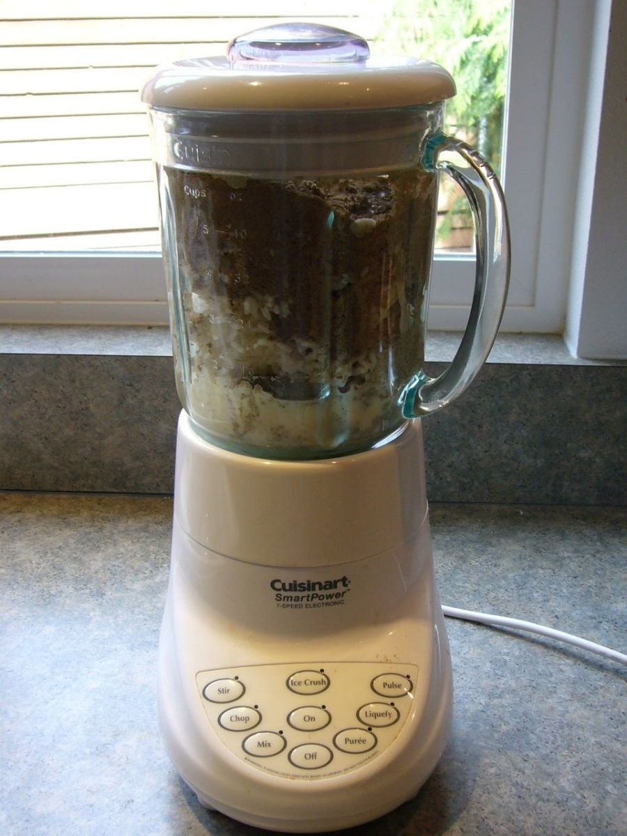 A Blender Comes in Handy
