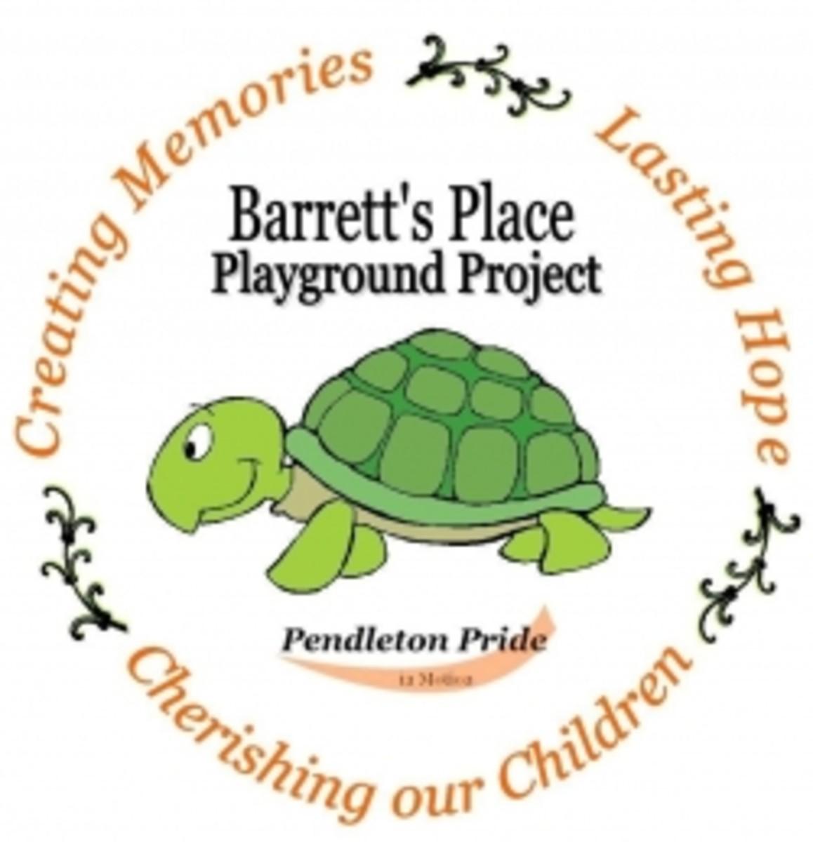Barrett's Place Playground in Pendleton SC