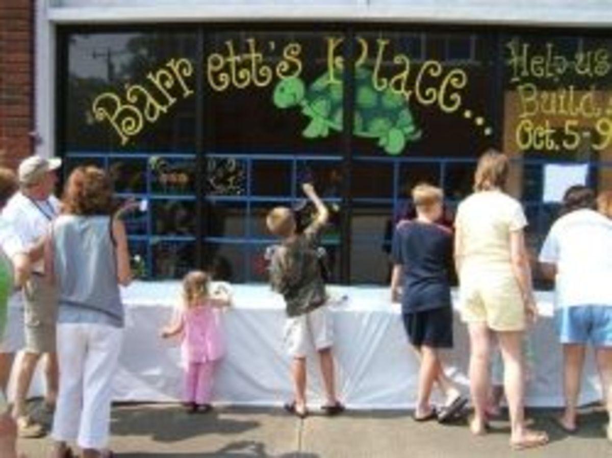 Super Fun Saturday for Barrett's Place Playground