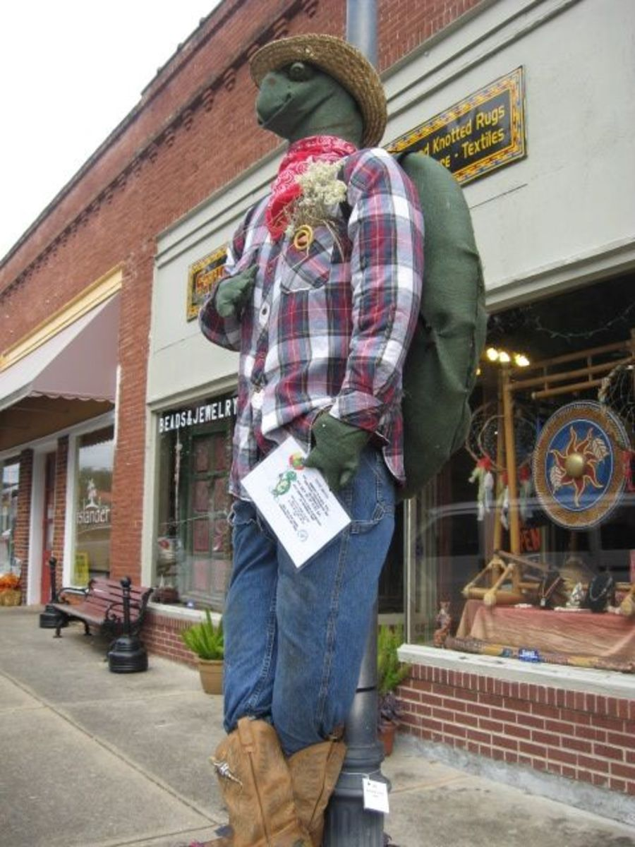 Pendleton Scarecrow Contest Friends of the Park Entry