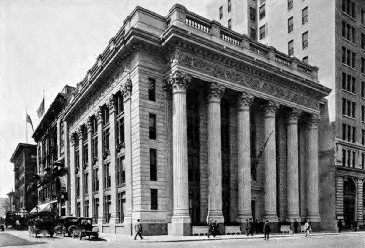 U.S. Bank Central Branch, Circa 1920