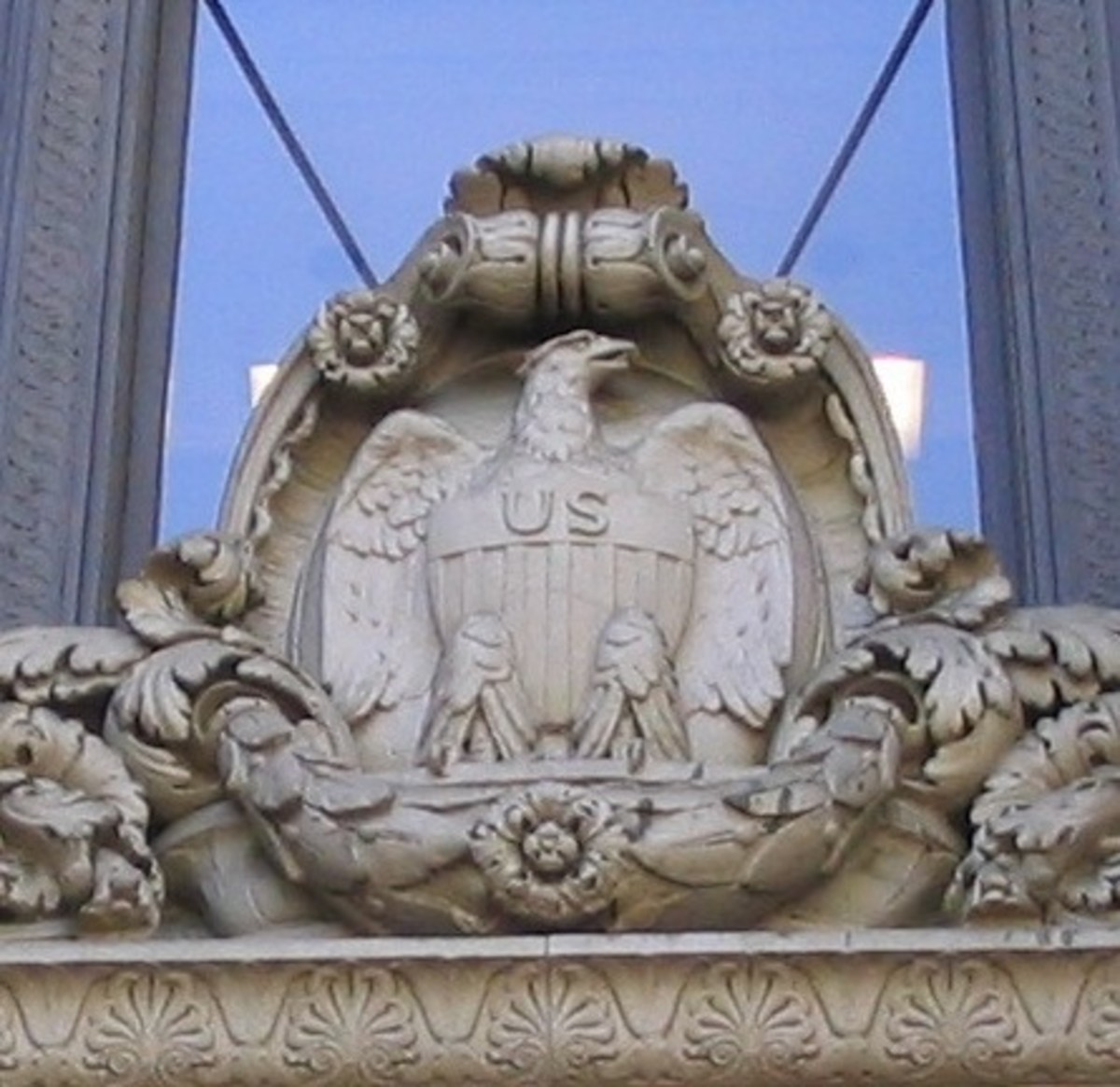 Eagle on U.S. Bank Building