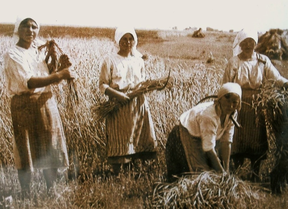Rural Polish life in the early 20th century